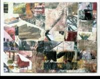 "What We Miss Joan Schulze 2010 35\"" x 45\"" www.joan-of-arts.com"