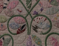Quilt Fragment - Heart of Country Antique Show Nashville, Tennessee B-roll by Alan Miller