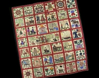 Reconciliation Quilt Linda Ward Honstain 1867 Cotton 97