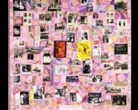 """Resistance to Tyranny is Obedience to God Adrienne Yorinks 1995 71\"""" x 79\"""" www.adrienneyorinks.com/textile"""