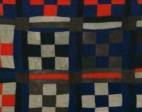 Nine Patch Ruth Mosely From The Quilts of Gee's Bend Courtesy of Matt Arnett and Vanessa Vadim Tinwood Media Production, 2002 Atlanta, Georgia