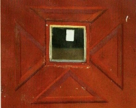 Door, Dew Drop Inn nightclub, Gee's Bend From Gee's Bend: The Architecture of the Quilt Paul Arnett, Tinwood Books, 2006  Courtesy of Matt Arnett Photo by Pitkin Studio