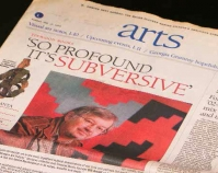 So Profound It's Subversive By Catherine Fox The Atlanta Journal-Constitution Arts February 17, 2002