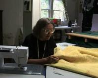 Kathleen Loomis working in her studio B-roll by Alan Miller www.kathyloomis.com