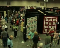 American Quilter's Society Show and Contest  B-roll by Alan Miller  American Quilter's Society  Paducah, KY  www.americanquilter.com