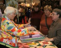 Photograph of International Quilt Festival show floor  Quilts, Inc. and International Quilt Festival  Houston, Texas  www.quilts.com