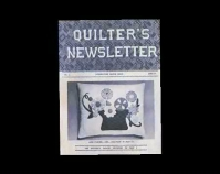 Quilter's Newsletter magazine  Leigh Fellner Collection  www.hartcottagequilts.com  2 images follow