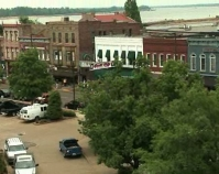 Paducah before the beginning of the  American Quilter's Society  Paducah Convention and Visitors Bureau  Next 10 images