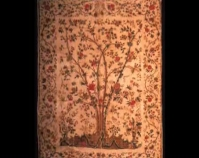"Tree of Life palampore Maker unkn own Late 18 th century Cotton 88 ½ "" x 123 "" Item n umber 1958.019 The Charleston Museum Charleston, Sou th Carolina www.charlestonmuseum.org"