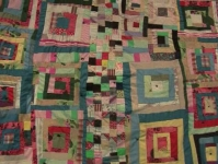 Housetop variation with Postage Stamp center row Irene Williams 1965