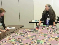 Quilt class Quilts, Inc. and International Quilt Festival Houston, Texas