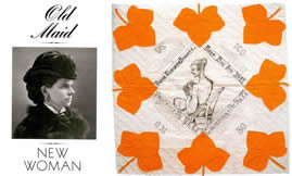 Old Maid, New Woman -- The Story of the Presentation Quilt (1871) - Article by Shelly Zegart (1986)