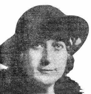 Mae Waters (Mrs. Frank N. Waters) - American Legion Auxiliary, Unit #9 President (1930)