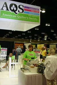 AQS Booth at Show