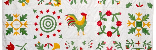 Rooster Quilt - Photo courtesy of Bill Volckening