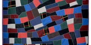 Wavy Bricks (wool knits/poly) - from Bill Volckening's Collection