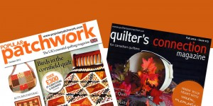 Quilters Connection and Popular Patchwork Covers, Fall 2012 - Collage