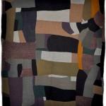 Improvisational Crazy Quilt, c. 1920, unknown maker, Maryland