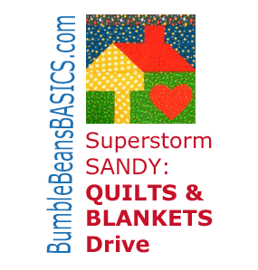 Superstorm Sandy: Quilts and Blankets Drive