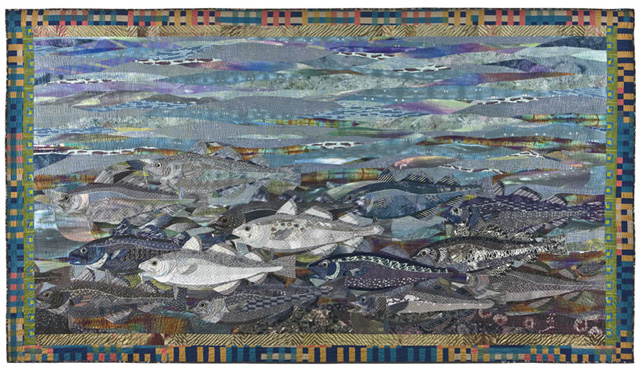 Cod, made by Ruth B. McDowell, 2002, collection of John M. Walsh, III