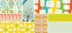 Thomas Knauer - Savanna Bop, Pear Tree and Flock Fabric