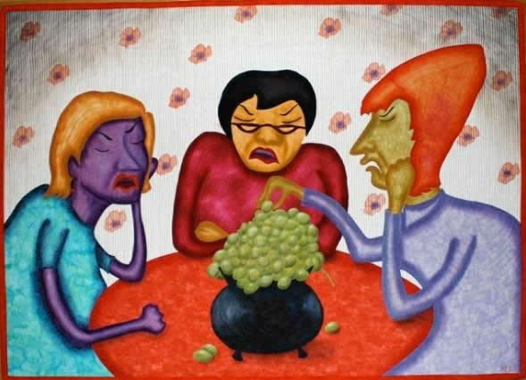 Sour Grapes - by Mary Pal