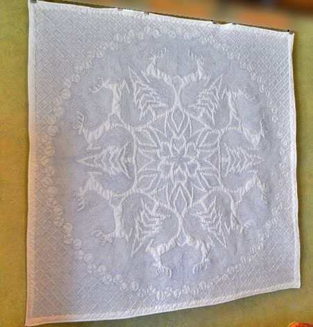 Time Latimer - Snowflake Quilt -  Semi-finished Snowflake Quilt