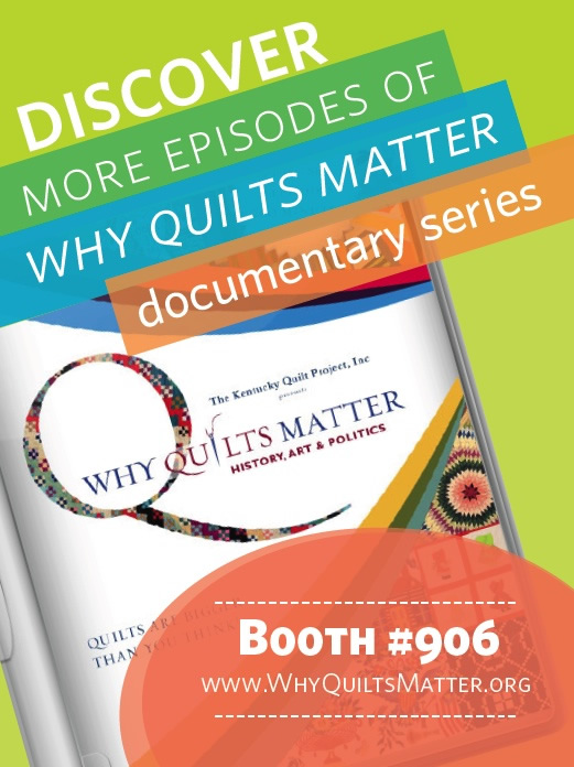 Why Quilts Matter at Quilt Con in Austin - 2015